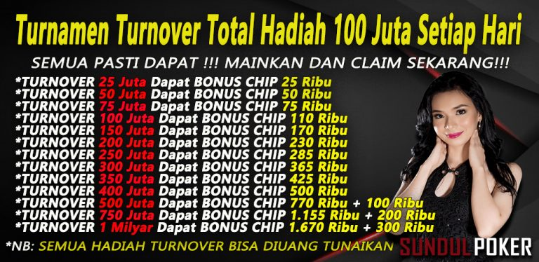 Tabel bonus turn over